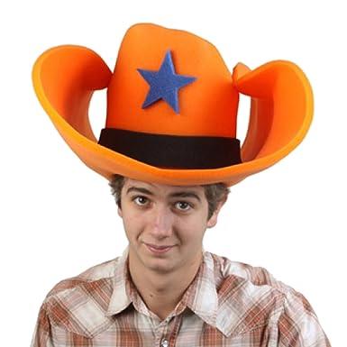 Amazon.com  Clown Antics Super Size 50 Gallon Cowboy Hats - Orange (28
