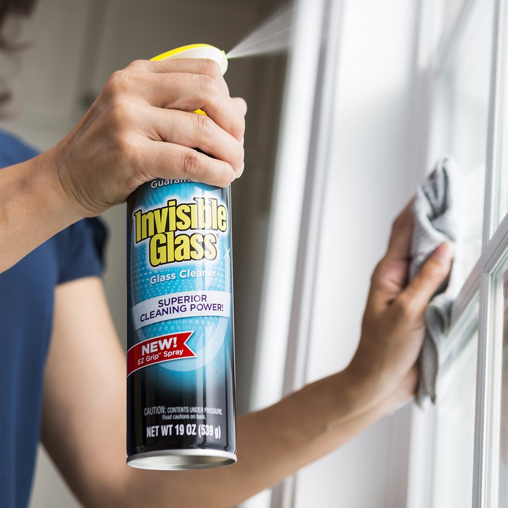 Invisible Glass 91160-6PK Premium Glass Cleaner (with EZ Grip 19-Oz Can), 114. Fluid_Ounces, 6 Pack by Invisible Glass (Image #3)