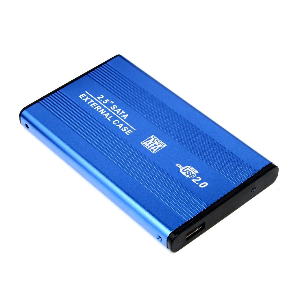 Carcasa para Disco Duro USB2.0 SATA Externo 2.5