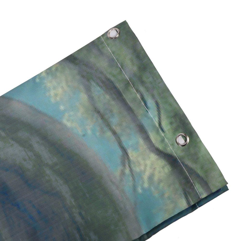 Arte Digital Impreso Ancla N/áutica Madera R/ústica Prueba de Moho y Resistente al Jab/ón ANPI Cortina de Ducha Impermeable Lavable Maquina Tejido de Poli/éster 180cm x 180cm