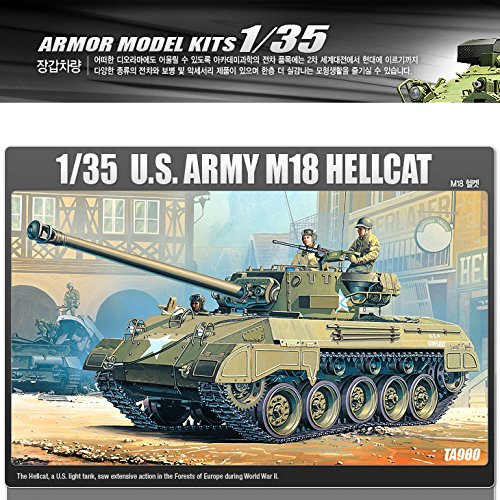 Academy M-18 Hellcat U.S Army -