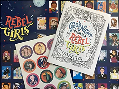 Good Night Stories For Rebel Girls Coloring Book Elena Favilli