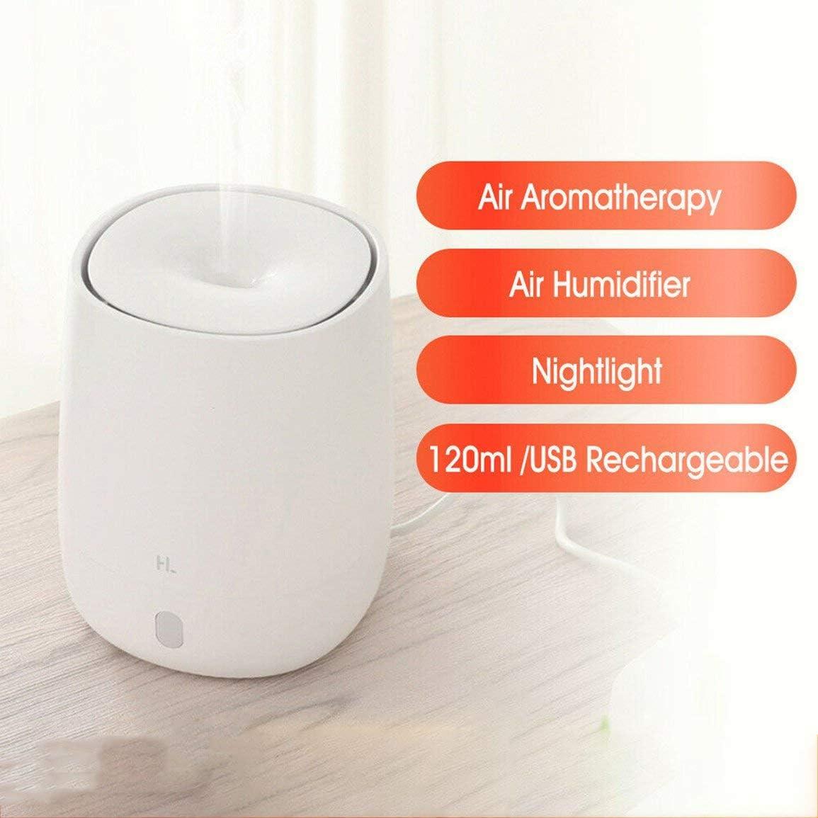 Justdodo Xiaomi Mijia Youpin HL USB port/átil Mini difusor de aromaterapia humidificador humidificador de Aroma silencioso