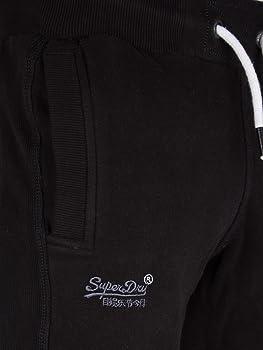 Superdry Orange Label Slim Jogger pantalón, Negro (Jet Black12A ...