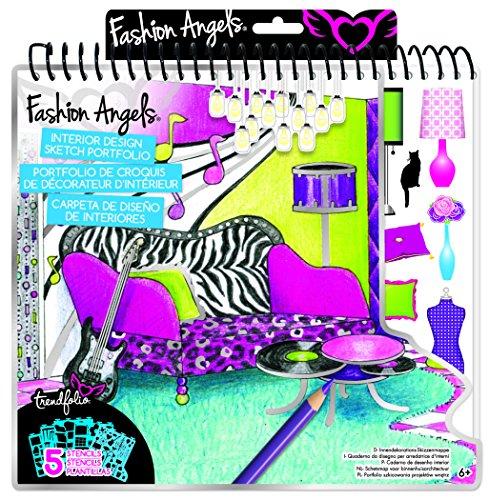 Fashion Angels Interior Design Sketch Portfolio