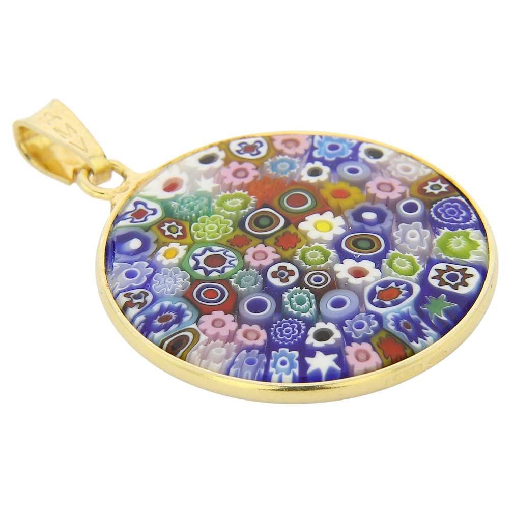 Glassofvenice Femme multicolores en plaqu/é or Cadre 7//20,3/cm