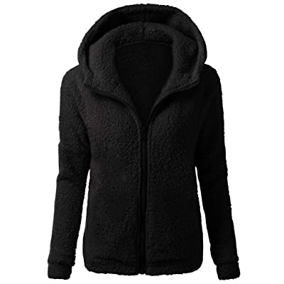 jin&Co Women\'s Long Sleeve Zipper Hoodies Tops Casual Fleece Sweatshirt Coat with Pocket: Clothing [5Bkhe0803199]