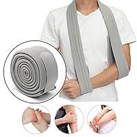 Slimerence Arm Schulter Sling, Verstellbarer Arm Schulter Schlinge für Ruhigstellung und Stabilisierung des Arms, Schulter und Handgelenk im Anschluss an Verletzungen