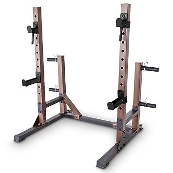 SteelBody stb-70105 Squat Rack Base Trainer: Amazon.es: Deportes y aire libre