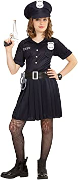 NET TOYS Disfraz Infantil Policía - 153 - 158 cm, 11 - 13 años ...