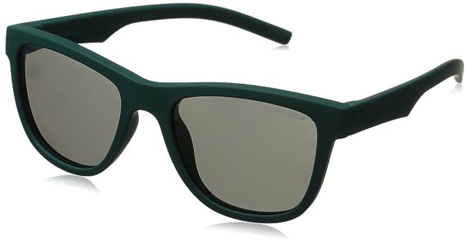 Polaroid Unisex-Kinder Sonnenbrille Pld 8018/S Y2 Yyv, Schwarz (Black Rubber/Grey Pz), 47