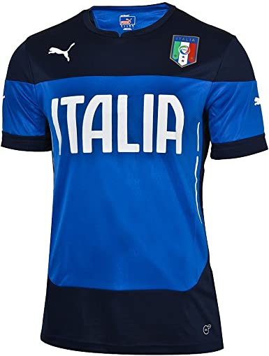 PUMA Mens FIGC Italia Training Jersey