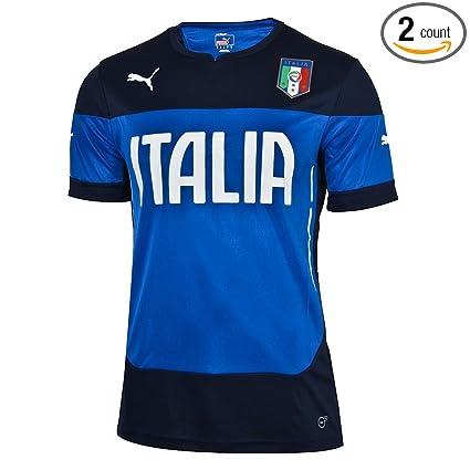 check out a7c03 3fbb4 Amazon.com : Puma FIGC Italy Italia Training Jersey Extra ...