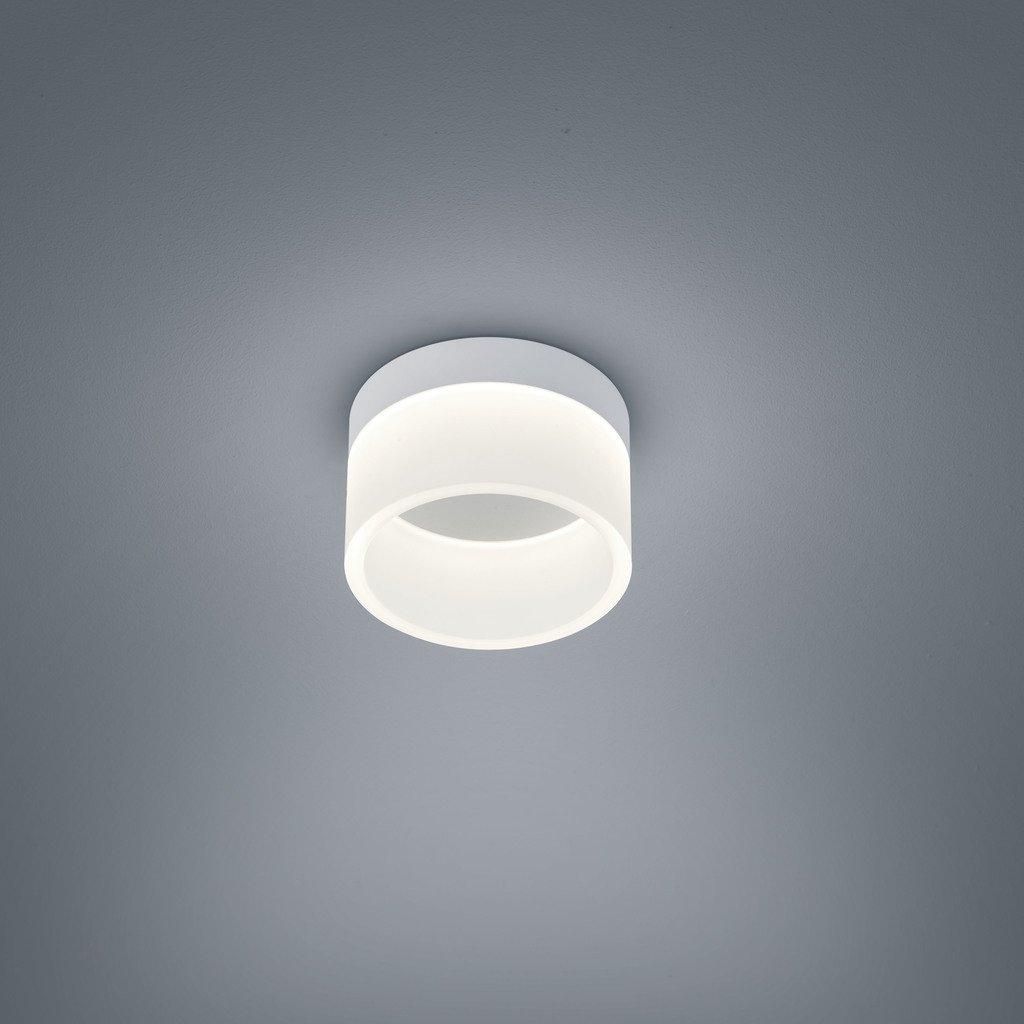 Helestra LED Deckenleuchte Liv Weiß-Matt IP30  LEDs fest verbaut 940lm warmweiß  15 1732.07