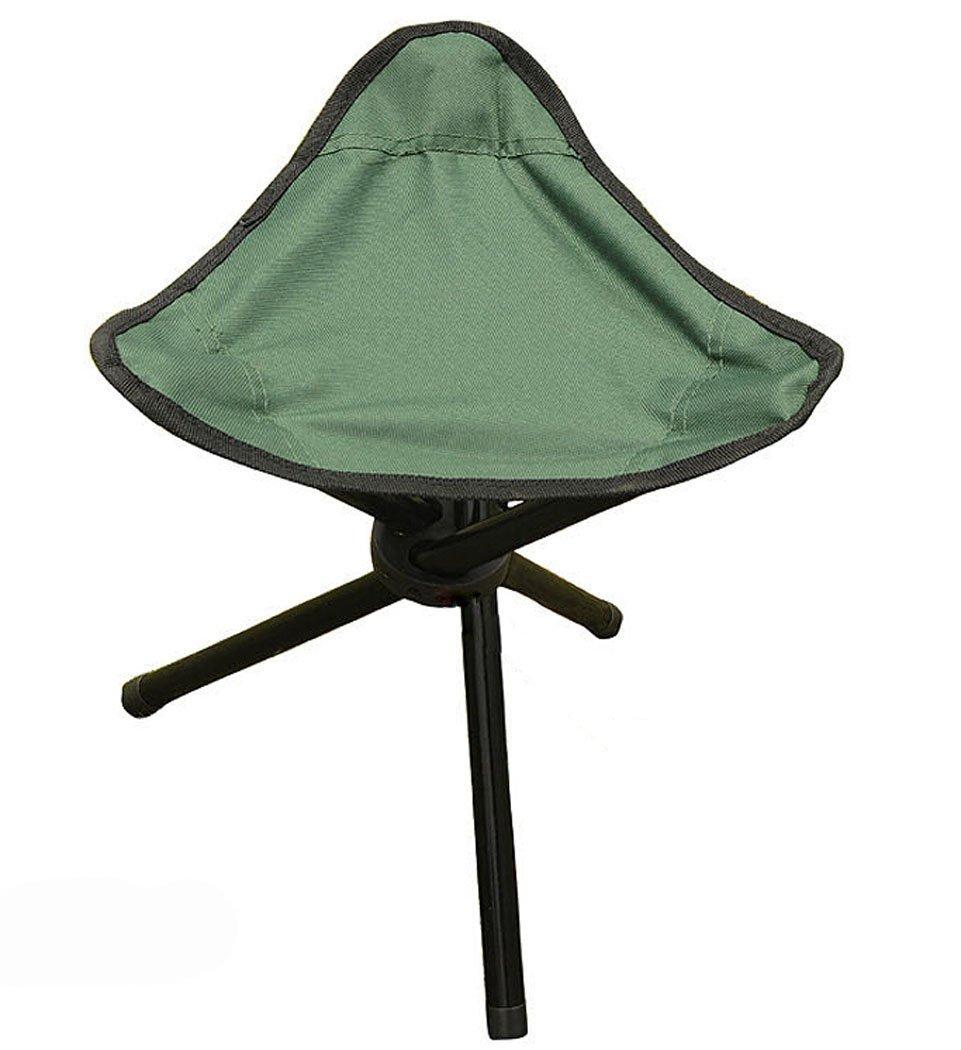 boutique1583アウトドアハイキング釣りFolding Stoolポータブル三角形椅子 B00RGGTLO2 グリーン グリーン