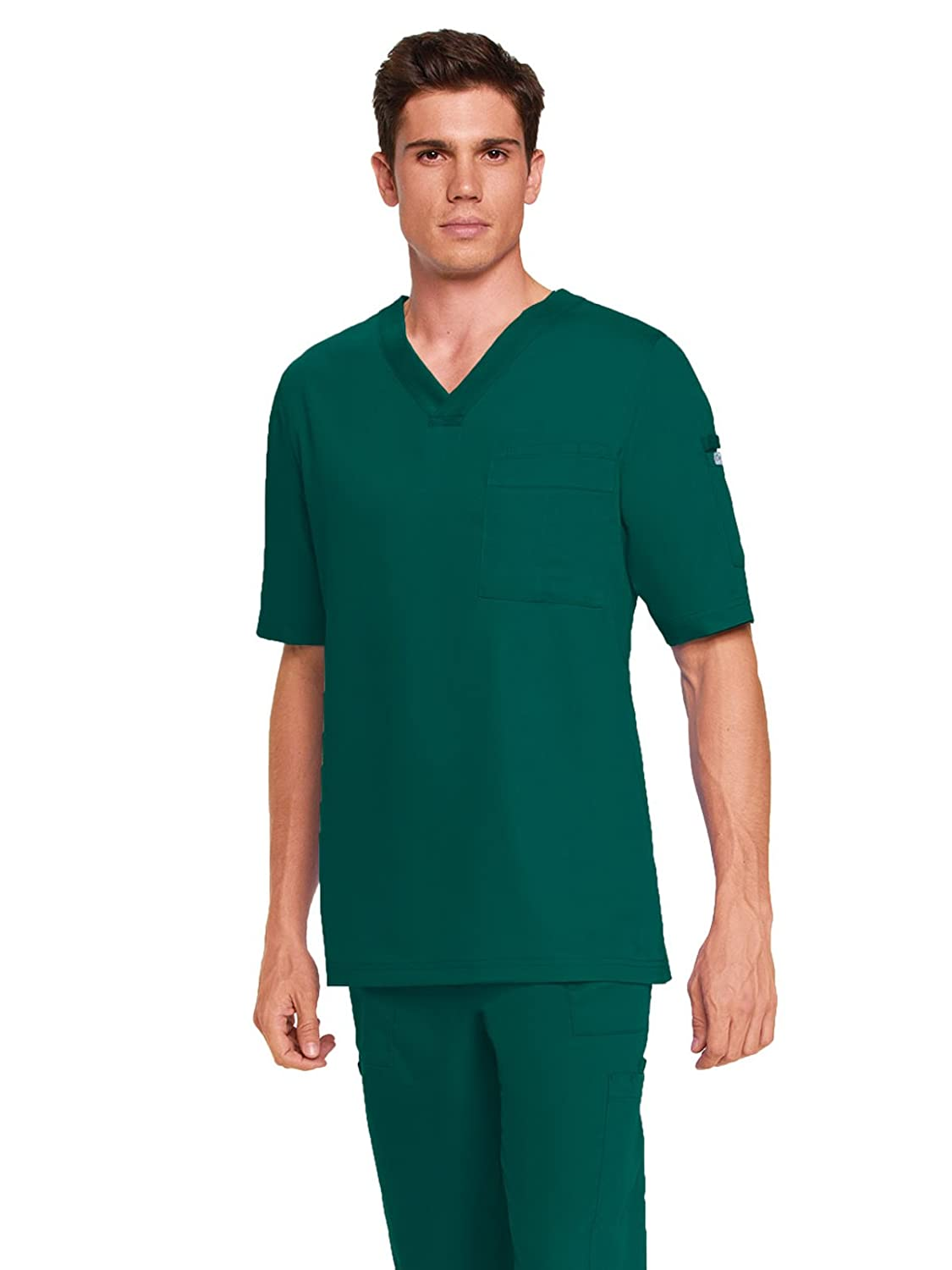 Amazon.com: Grey\'s Anatomy Men\'s 0103 3 pocket V-Neck Scrub Top ...