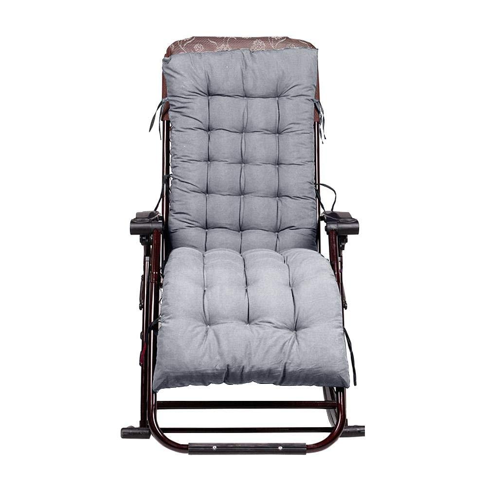 Chaise Longue Cushion Cuscino per sedie a Dondolo Cuscino Imbottito per sedili Cuscino per sedie in Rattan Cuscini per divani Tatami Opaco Tappetino Riverry Cuscino per sedie a Dondolo