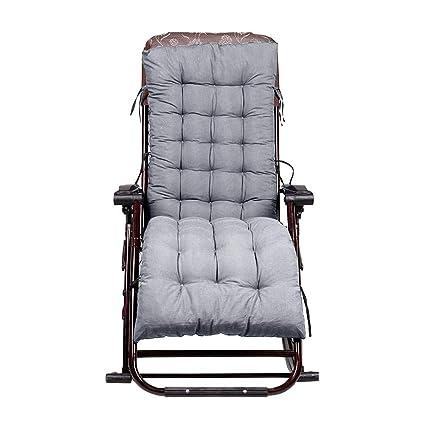 advancethy Silla de jardín reclinable, Chaise Longue, cojín Acolchado y Acolchado Suave para un Mejor Descanso