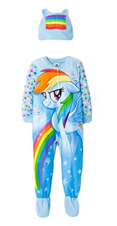 Amazon.com  My Little Pony Infant Baby Toddler Onesie Footed Pajama ... ace413972