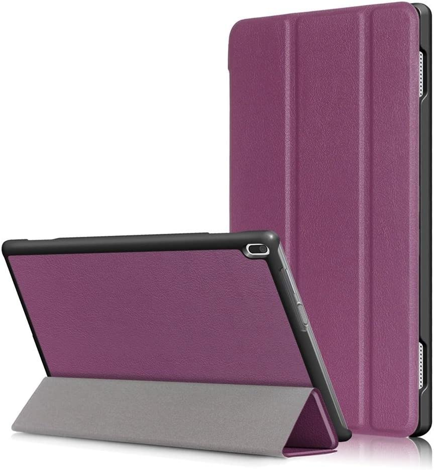 Smart Cover for Lenovo Tab 4 10 Tablet Case(Not Tab4 10 Plus) Folio Smart Cove for Lenovo Tab 4 10.1 inch (TB-X304F,TB-X304N) Slim Folding Stand with Auto Sleep Wake Function,Purple