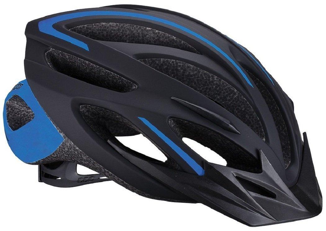 BBB ヘルメット トーラス Mサイズ 55cm~58cm ブラック/ブルー B00UJ1TSXK