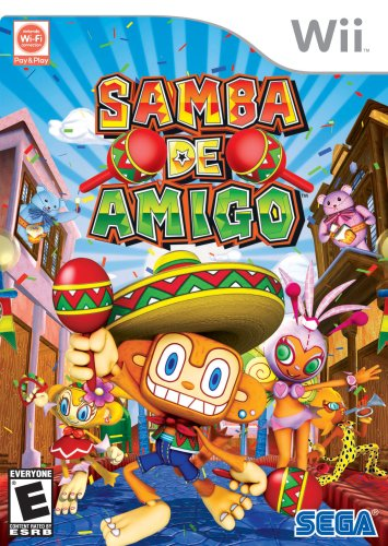 Samba De Amigo - Nintendo Wii (Wii Maraca)