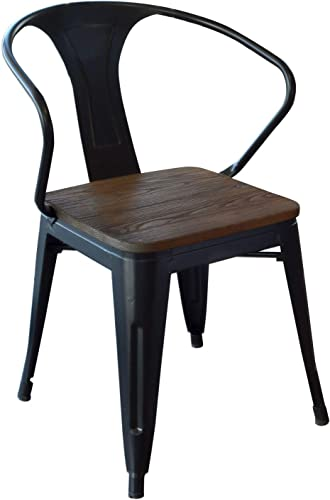 Buffalo Tools DCHAIRBWT Dining Chair Wood Seat