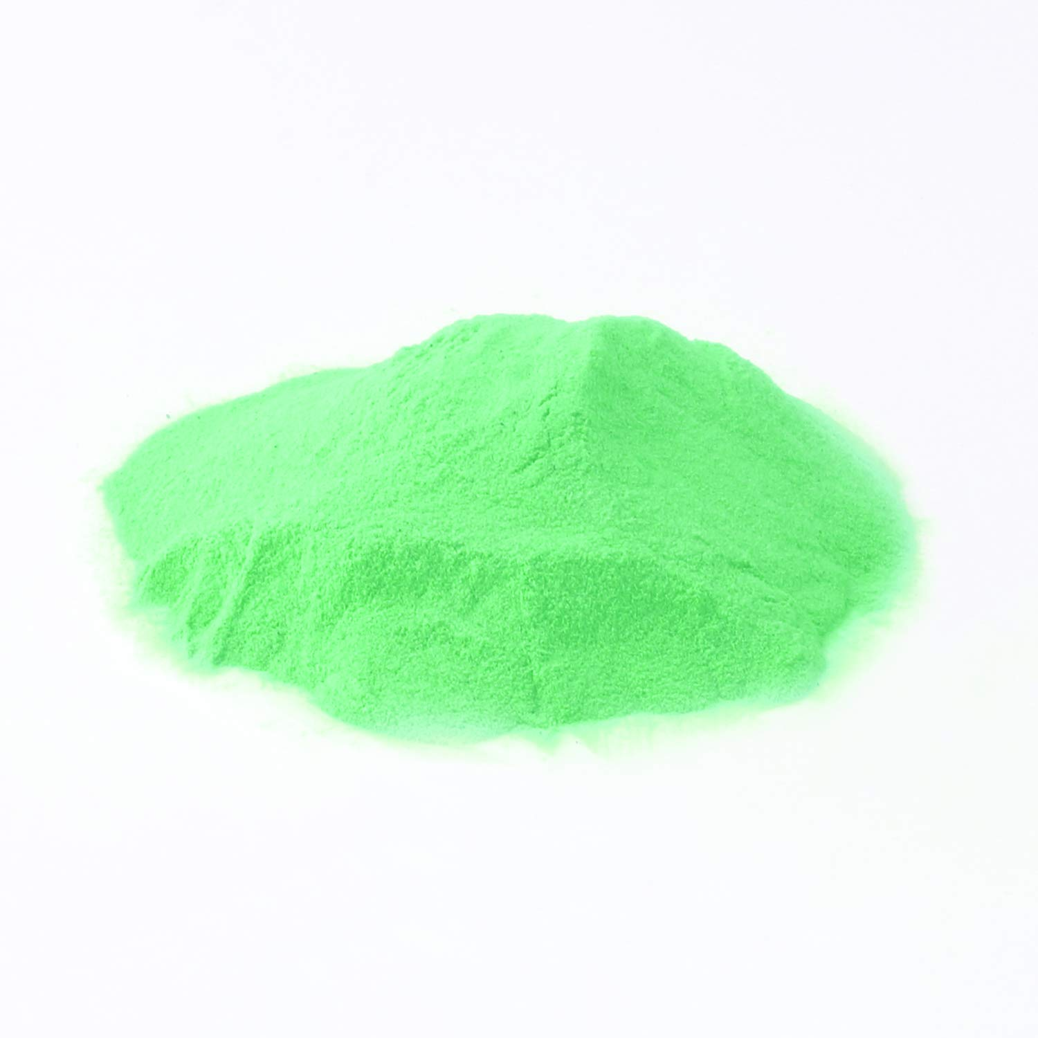100g Phosphorescent/Luminous Neon Glow in The Dark Pigments in Green WIRSV