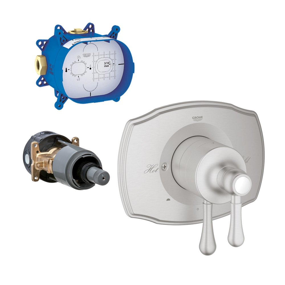 Grohe K19844-35026R-EN0 Grohflex Pressure Balance Trim with Rough-In