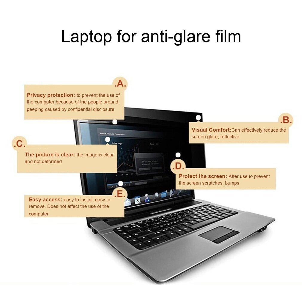 BaconiXfF Filtro de privacidad para pantalla ancha de 16 pulgadas para ordenador portátil, pantalla de privacidad antirreflejos: Amazon.es: Informática
