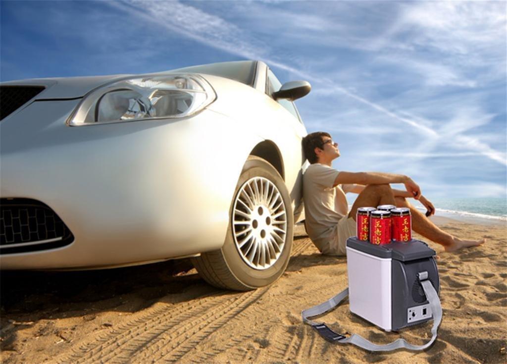 Auto Mit Eingebautem Kühlschrank : Auto kühlschrank autoinbox v camping tragbare reise