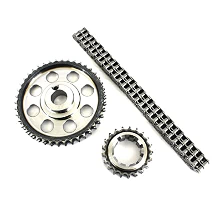 Amazon Com Double Roller 9 Keyway Billet Steel Timing Chain Kit For