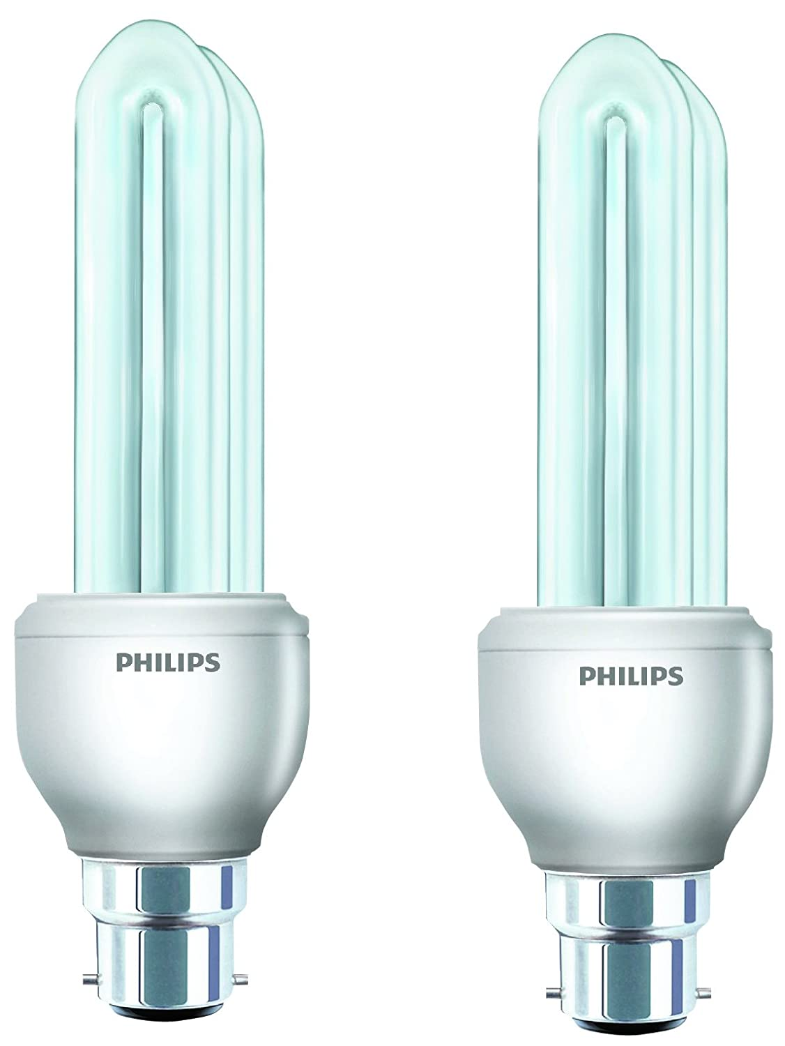 2 Essential Watt Day Light and Pack Philips B22 14 of CFLCool 5AR3jL4