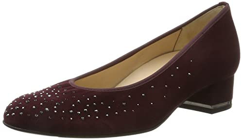 Womens Fermo, Weite G Closed Toe Ballet Flats, Anthracite/Black, 4.5 UK Hassia