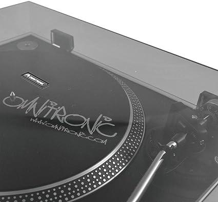 Omnitronic BD-1520 - Tocadiscos para equipo de audio, color negro ...