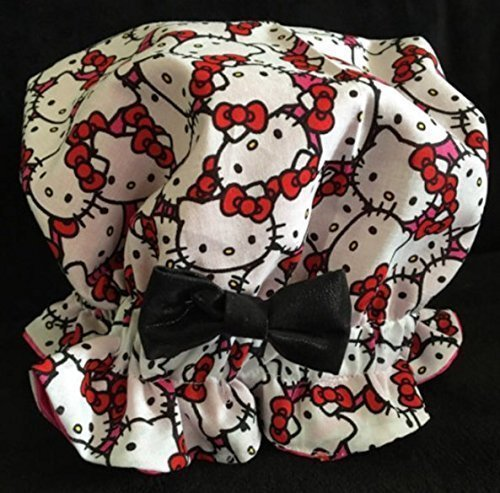 0deb78a8c Amazon.com: Hello Kitty Satin Bonnet: Handmade