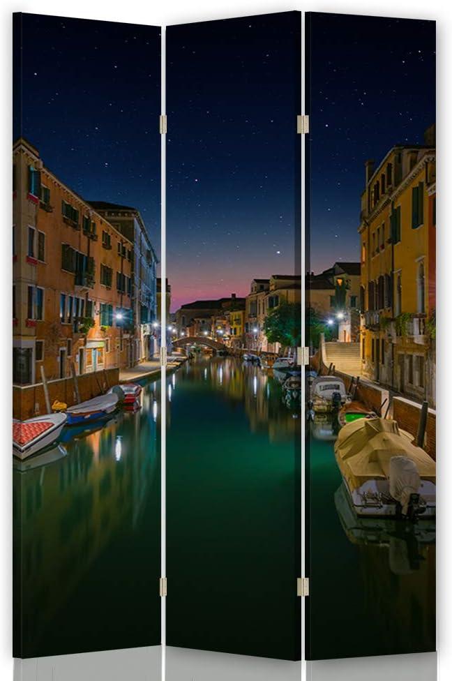 Feeby Pared divisoria Venecia 3 Paneles Unilateral Agua Edificios ...