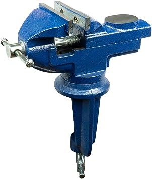 drehbarer Schraubstock 70mm HRB Schraubstock Tischschraubstock 50-70 mm wahlweise fest//drehbar