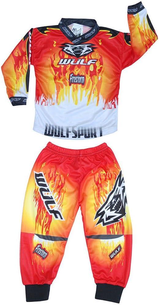 Wulfsport Attack - Camisa de motocross para niños: Amazon.es ...