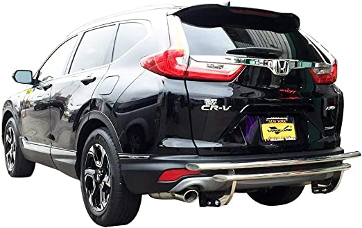 Protector Parachoques Trasero para Honda CR-VRE RM2012-2018 Acero Cromo