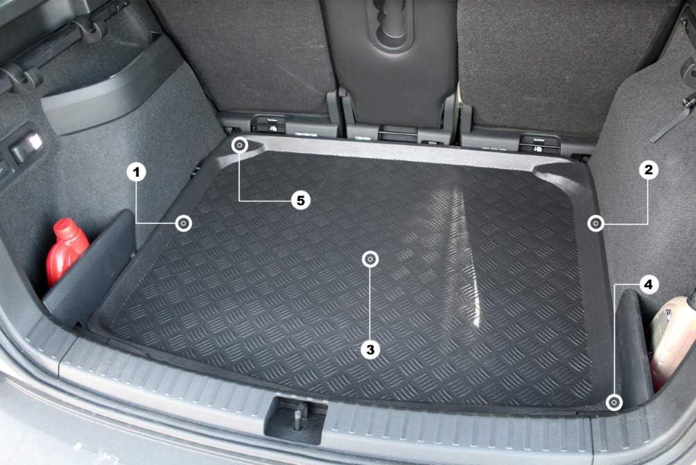 Bandeja cubremaletero cubeta Alfombrilla 2X4 4X4 Duster II 4x4 Desde 2017 Accesorionline Protector Cubre Maletero para Dacia Duster II Desde 2017