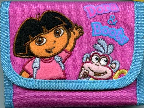 Dora The Explorer Wallet - Dora the Explorer and Boots Trifold Wallet