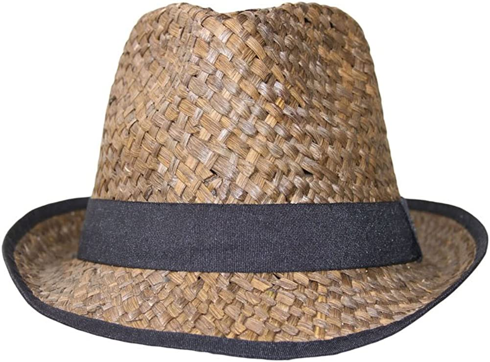 DY Colored Straw Fedora...
