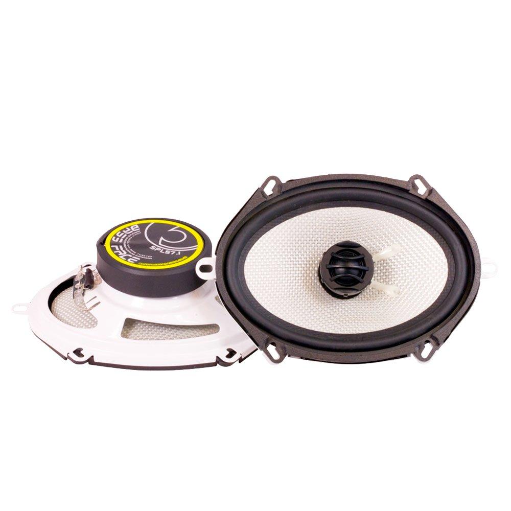 Bass Face SPL57.1 500W 5x7 inch Coaxial Car Speakers Pair