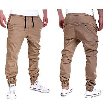 Amlaiworld Pantalones de Chándal de Hombres Pantalones de Deporte Pantalones Jogger Casuales para Hombre