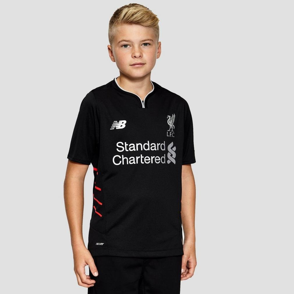 Liverpool FC Away Kids SS Football Jersey 16/17 New Balance