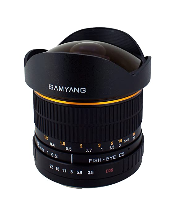 Review Samyang SY8M-C 8mm f3.5