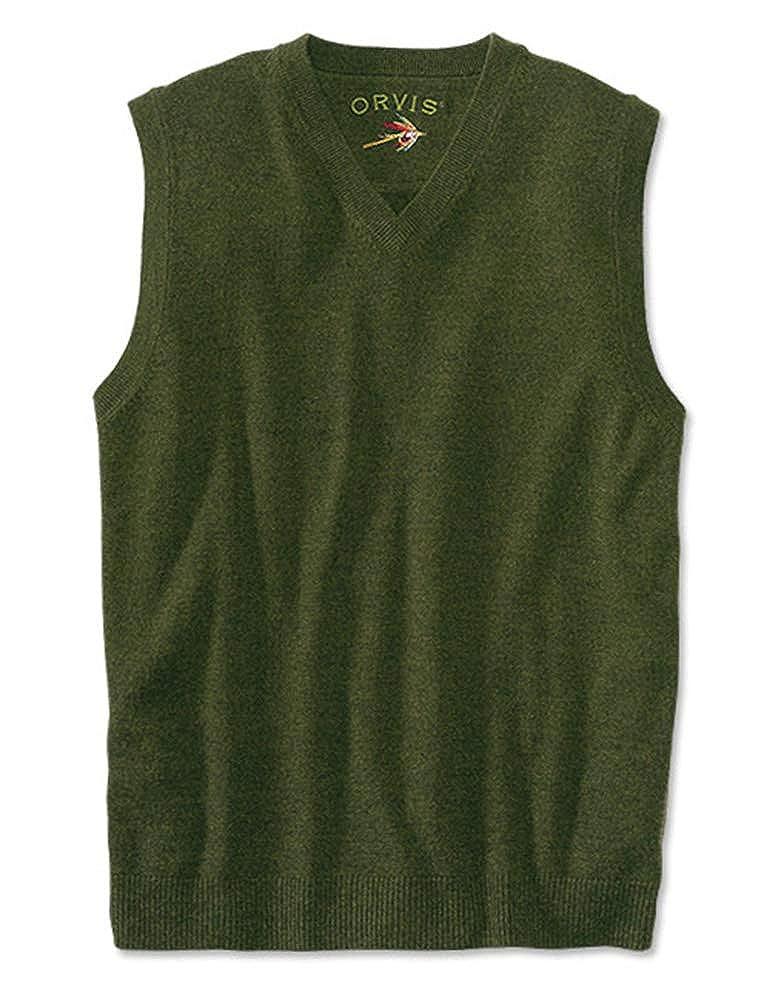 Orvis Merino V-Neck Vest Pullover