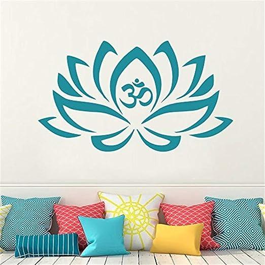 pegatinas de pared para dormitorios Mandala tatuajes de pared de ...