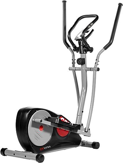 AsVIVA Unisex - Bicicleta elíptica Adultos C27 Cardio, Color Negro ...